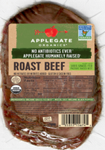 BB Roast Beef Sliced non GMO