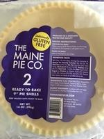 Frozen Pie Shells GF 8 inch Two Pack