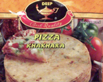 Cracker Pizza Khakhara