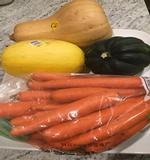 Squash and Carrots