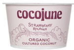 Yogurt Coconut Strawberry Rhubarb Vegan_case